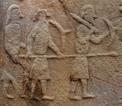 Pictish warriors